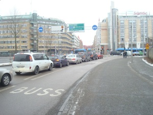 Trängsel i Göteborg